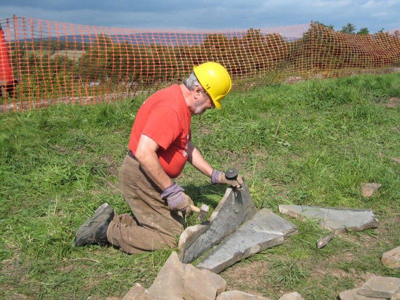 Frank splitting stone for copers