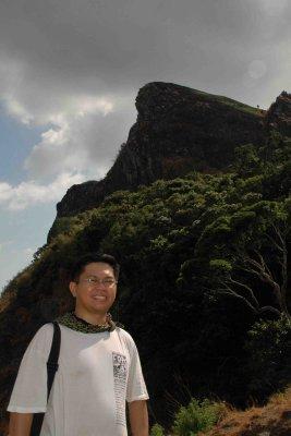 Pico de Loro at my back
