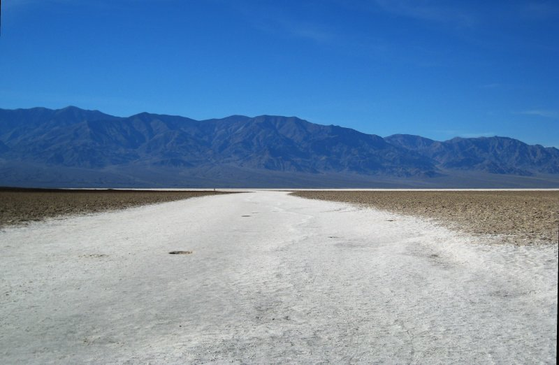 looking out from Badwater Basin