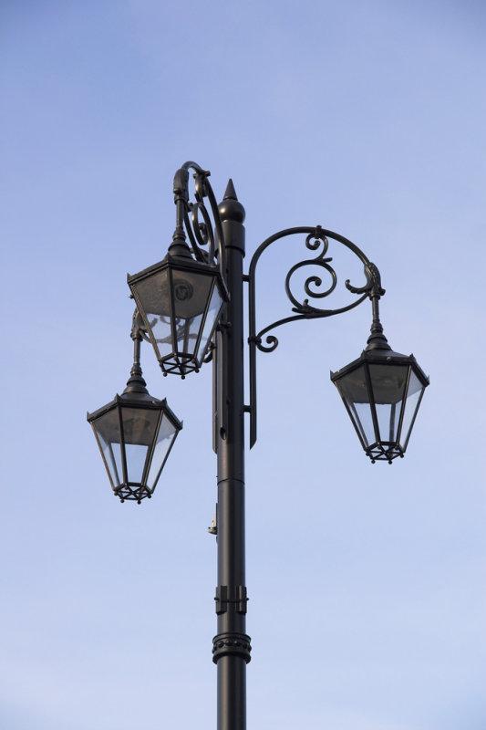 Lamps close-up