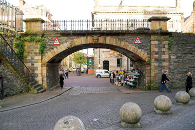 One of the city gates