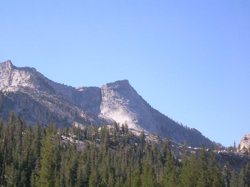 The Sunday objective - Tenaya Peak