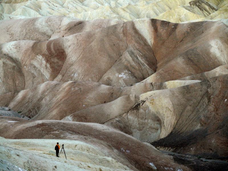 Nonconformist, Zabriskie Point, Death Valley, California, 2007