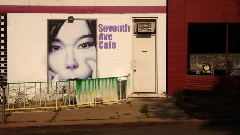 Seventh Street Café, Denver, Colorado, 2007