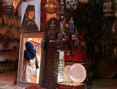 Mirror image, Marrakesh, Morocco, 2006