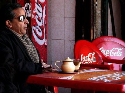 Prefers tea, Marrakesh, Morocco, 2006