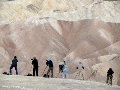 Body Language, Zabriskie Point, Death Valley National Park, 2007