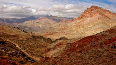 View from Titus Canyon Road, Death Valley National Park, California, 2007