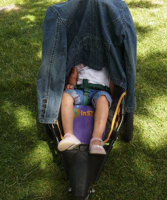 Asleep, Farmer's Market, Petaluma, California, 2007