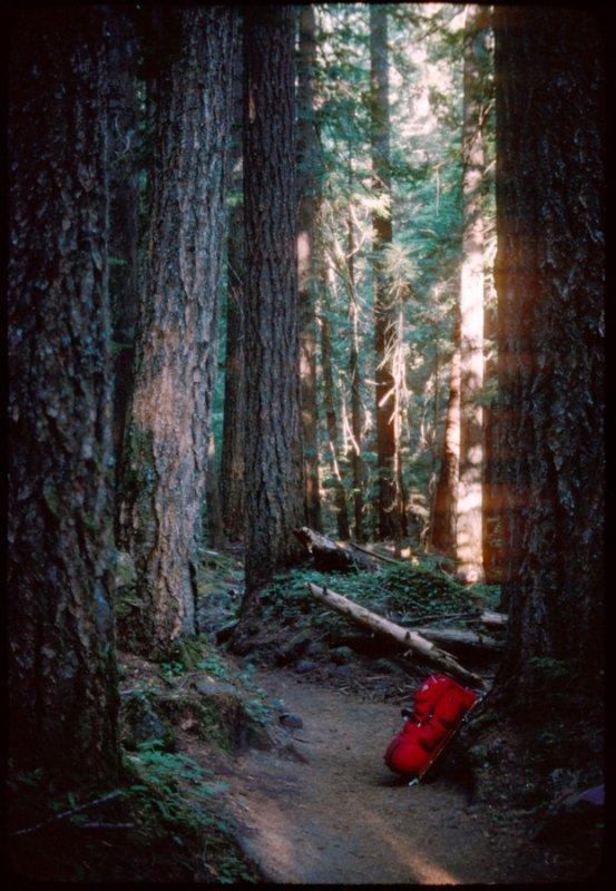 Pamelia Lake trail 1977