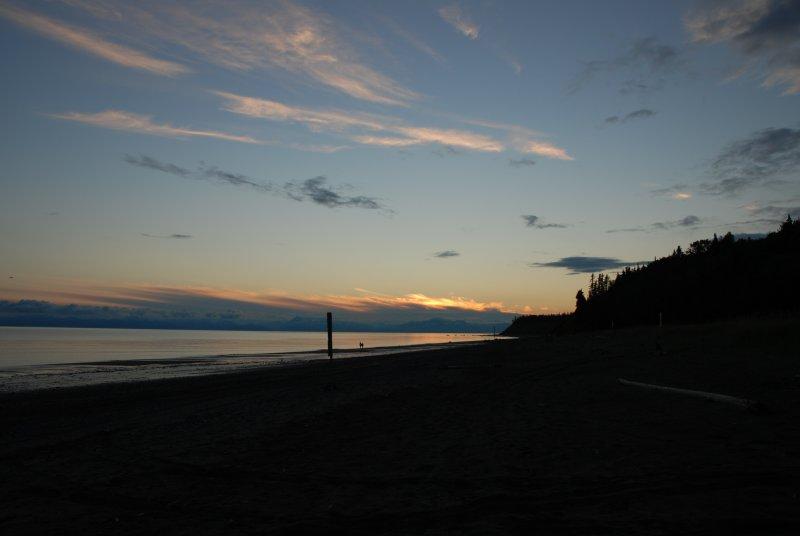 Beautiful Alaska sunset