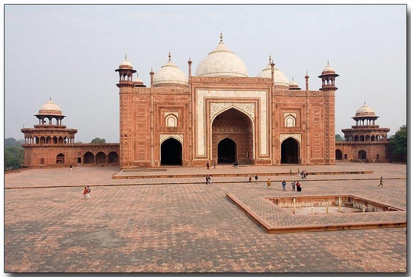 Taj Mahal mosque or masjid