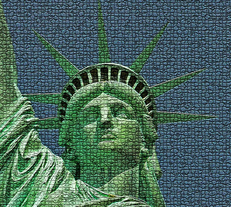 An Icon for America  - mosaic tiles