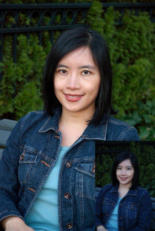 Portrait, rescued by Bibble