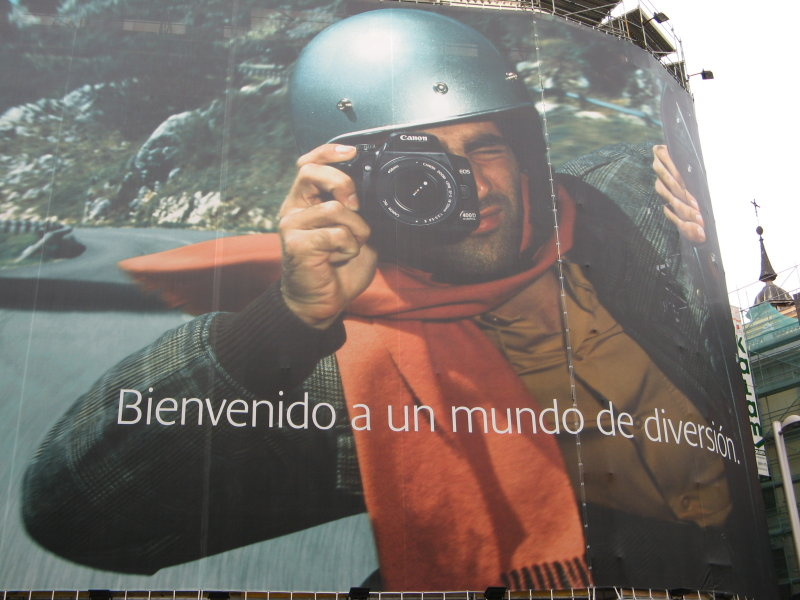 Giant Canon 400D Ad