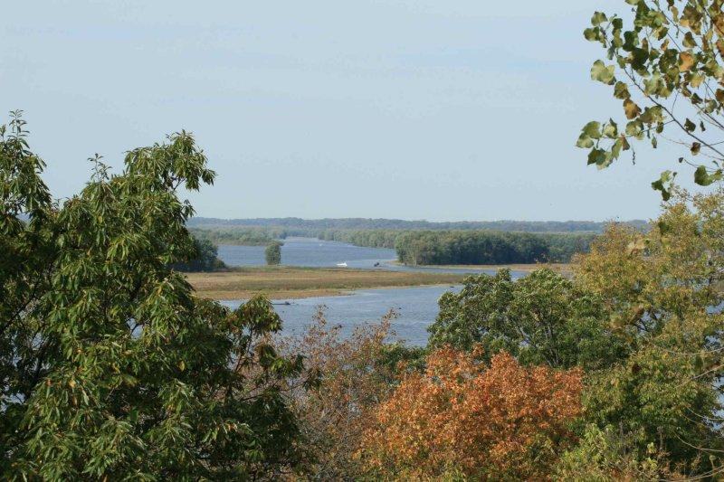 Mississippi River backwater at 70mm