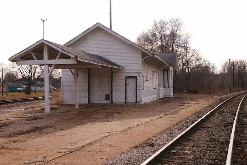 Bureau Illinois Chicago Rock Island  Pacific Depot Endview.JPG