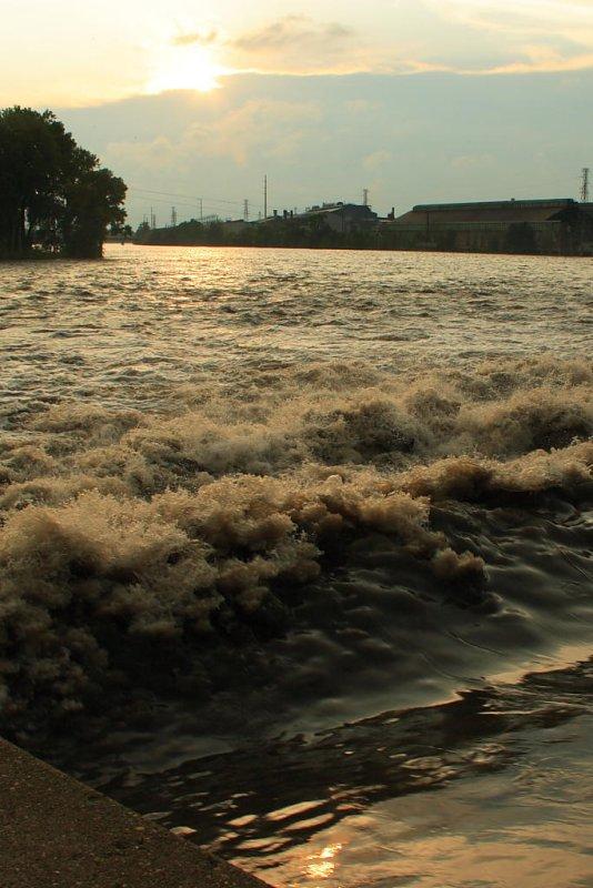 Rock River Lower Dam, Rock Falls, Illinois