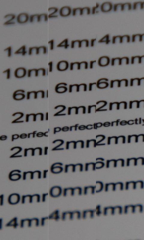 backfocus test 200mm after adjustment