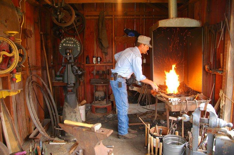 Blacksmith (Living History Day)