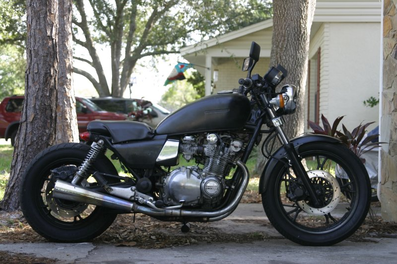 Tim's Motorcycle Diaries: Project Bikes