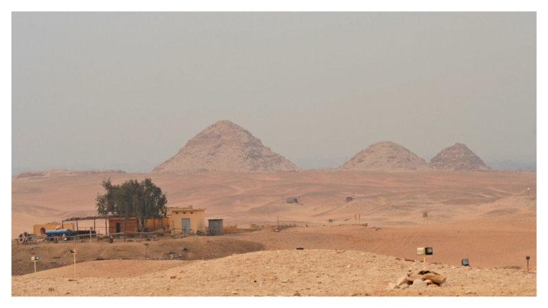 The Pyramids of Abusir