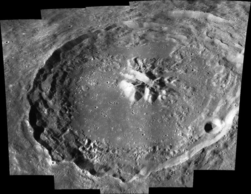 Apollo Panoramic Camera Image of Theophilus