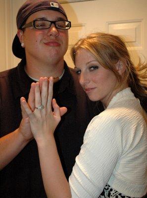 Matt and Nicole are engaged