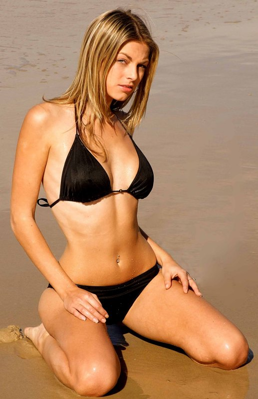 Model Andi Vale Gold Coast Australia Team