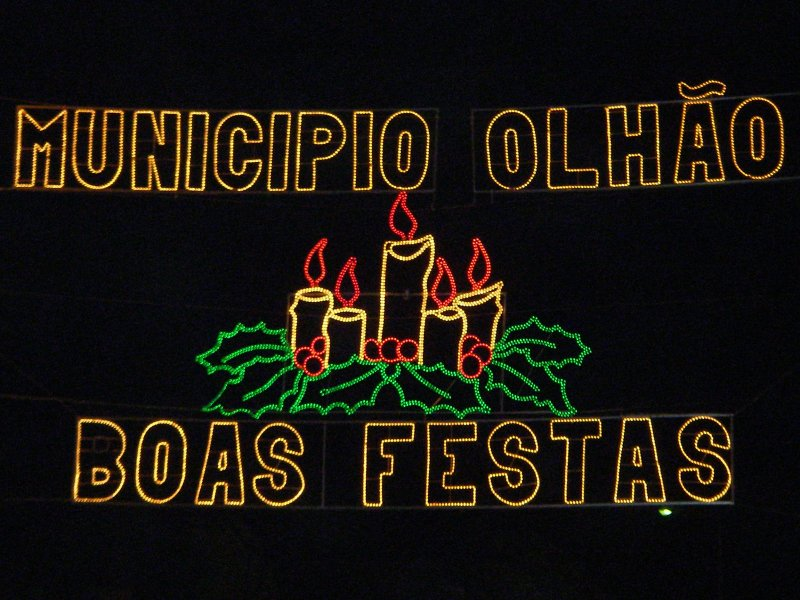 Christmas 2006 in Olhão