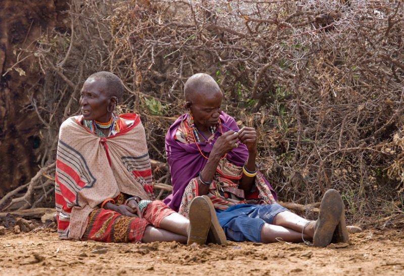 Elder Masai Women