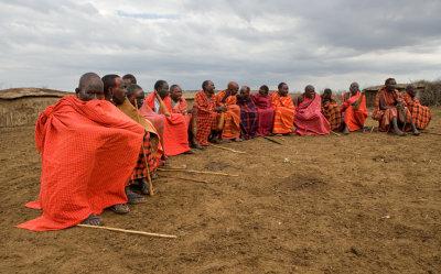 Masai Elders in session