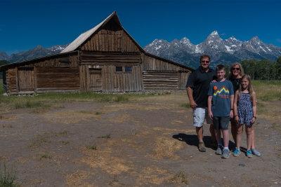 Mormon Barn visit in Wyoming 2016
