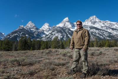 Mike in the Tetons 2016