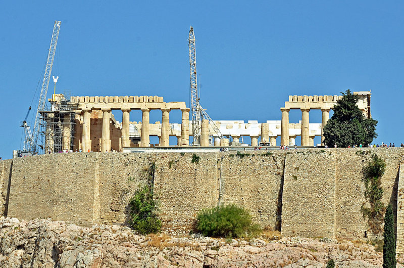 13_Parthenon seen from behind a museum window.jpg