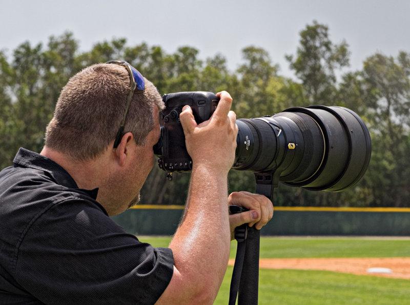 An authorized photographer.