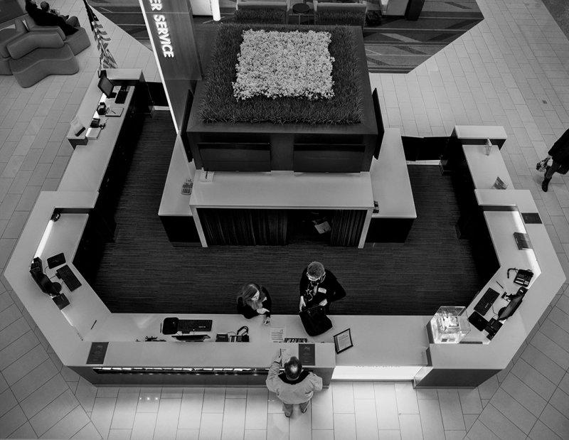Service counter - Mall