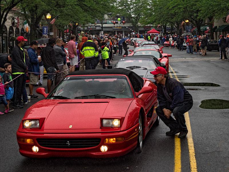 Parade of Kids -  Concorso Ferrari  & Friends (other Italian cars)