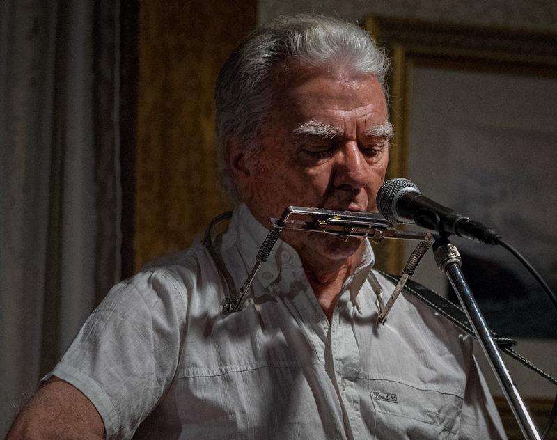 Johnny McEvoy - On the harmonica