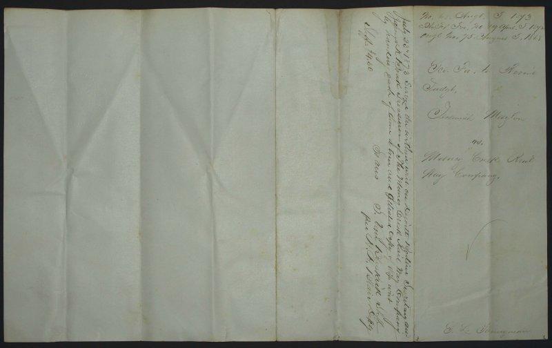 May 13, 1873 - Writ Back