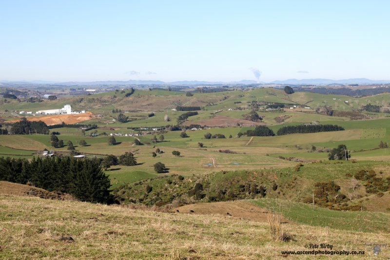 Waikato from the Bombay Hills