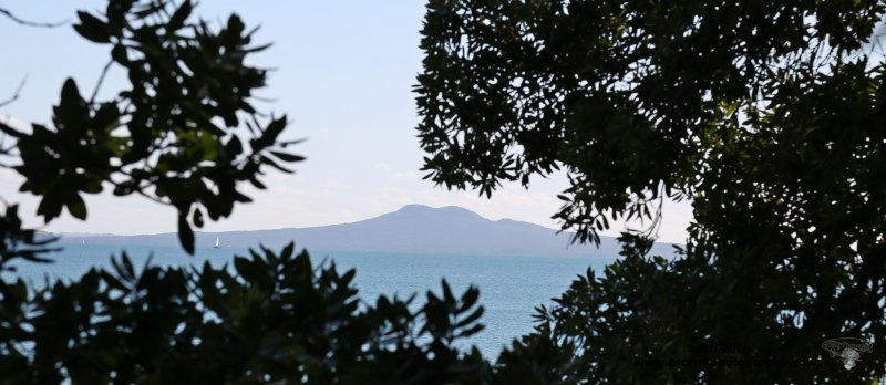 Rangitoto from Beachlands