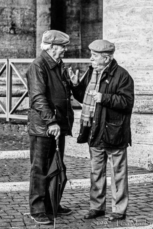 The Conversation in B&W