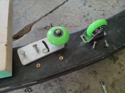 Wheel assembly.