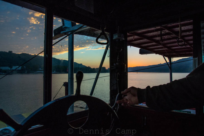 Sunrise Over Ohio River