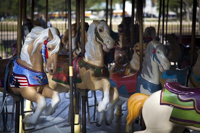 Washington Mall Merry- Go- Round