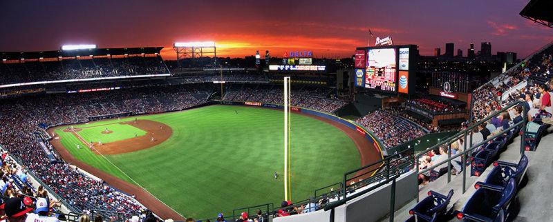 Turner Field And Atlanta Braves Baseball