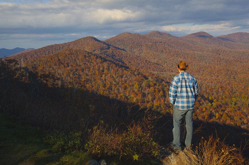 Paul Looking Towards Mt. Pisgah