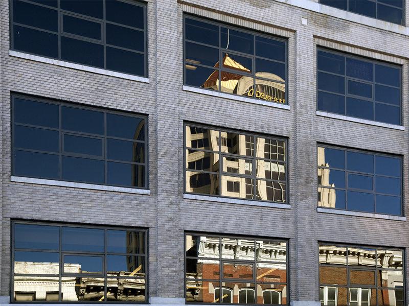 Roanoke City Reflection