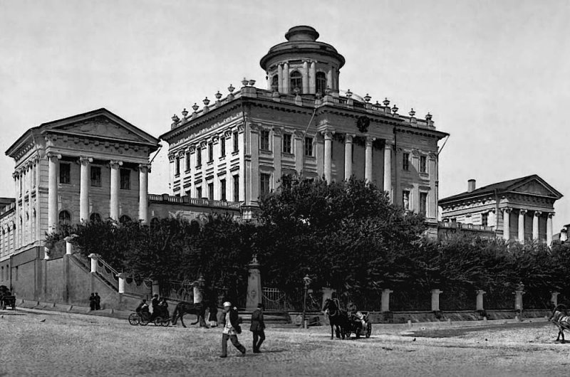 c. 1895 - Rumyantsev Museum (Pashkov House), Moscow